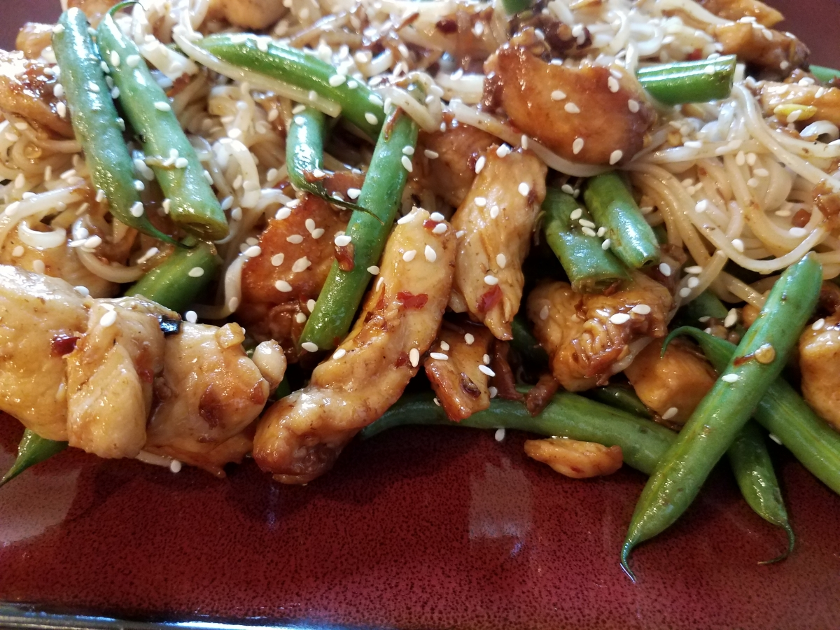 Spicy chicken and green bean stir fry cooking 4 one tonights recipe is based on claire saffitz recipe on the bon appetit website which i found delicious like many stir fry dishes this one is easy to forumfinder Images