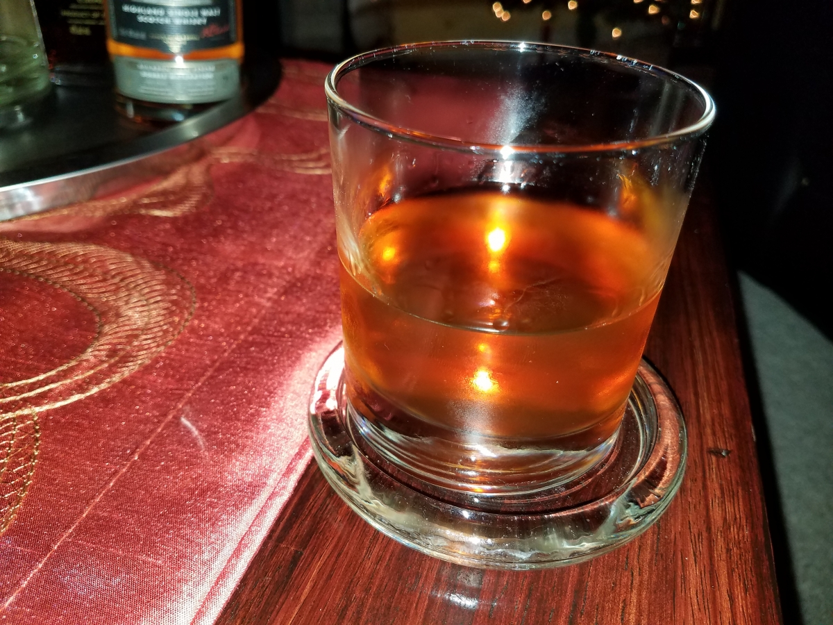 How to make an old fashioned with sweet vermouth